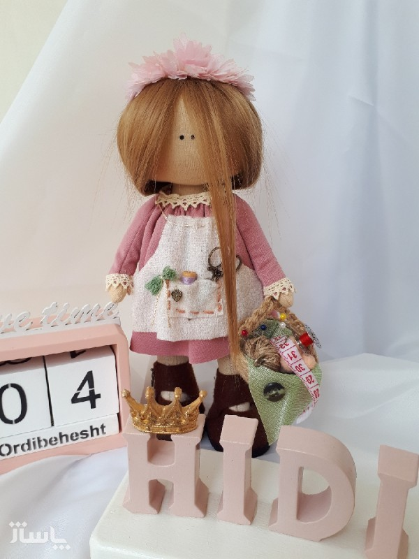 عروسک روسی خیاط هیدی کد3-تصویر اصلی