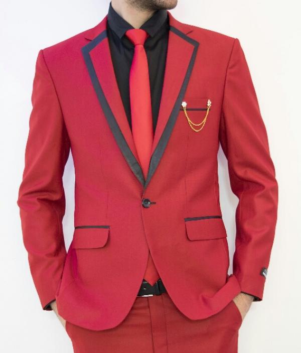 کت و شلوار قرمز-تصویر اصلی