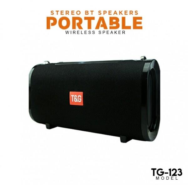 اسپیکر شارژی همراه  T&G 123-تصویر اصلی