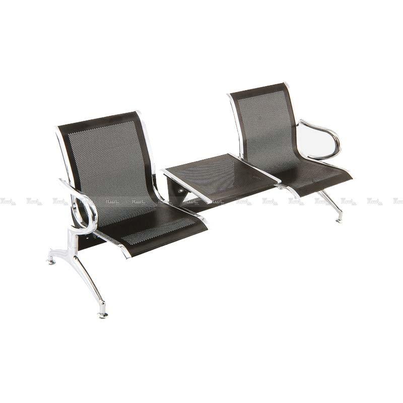 صندلی انتظار دو نفره میزبان دار مدل HB 154 شفق-تصویر اصلی