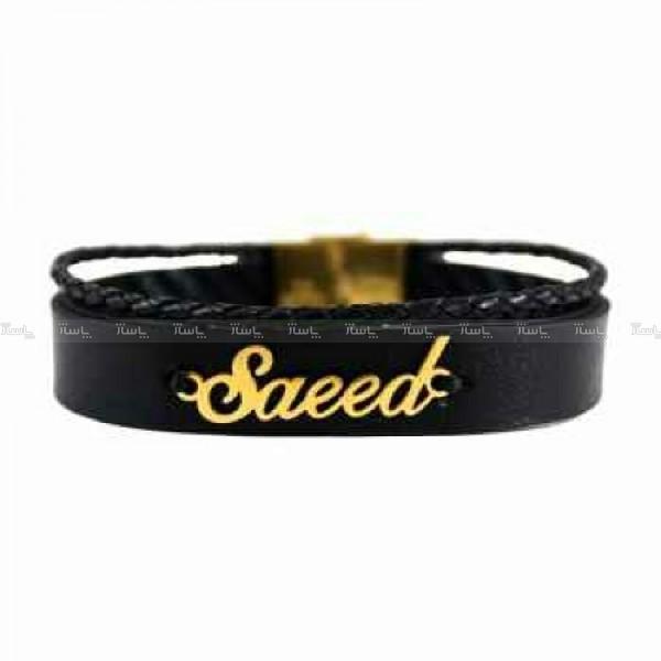 دستبند سعید ( ۴۵۰ سوت ) طلا ۱۸ عیار-تصویر اصلی