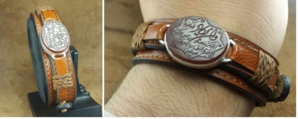 دستبندچرم  دستبندچرم طبیعی اصلی-تصویر اصلی