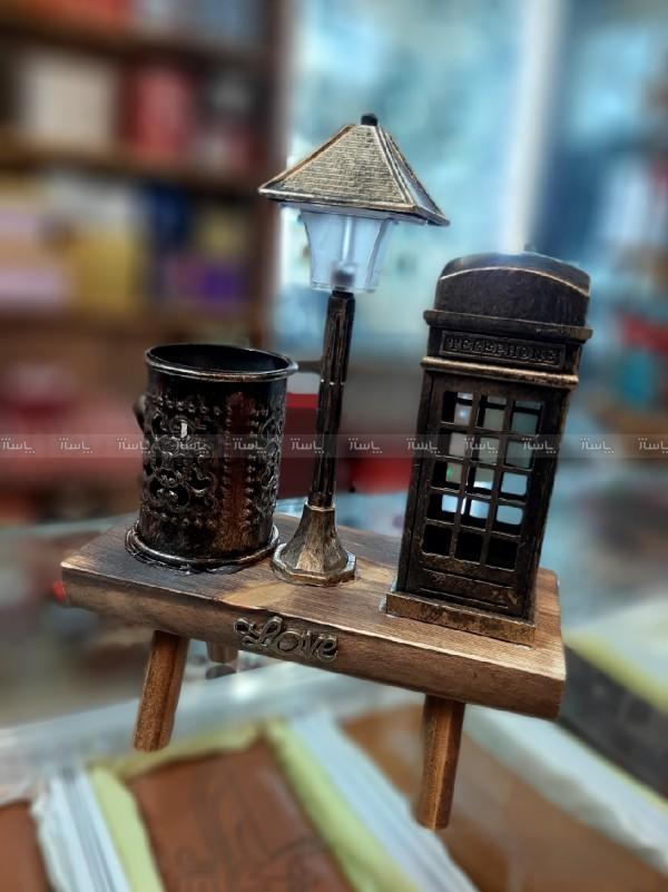 جا قلمی همراه با چراغ Led و کیوسک-تصویر اصلی