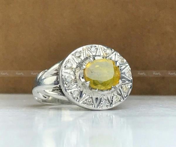 انگشتر یاقوت زرد اصلی-تصویر اصلی