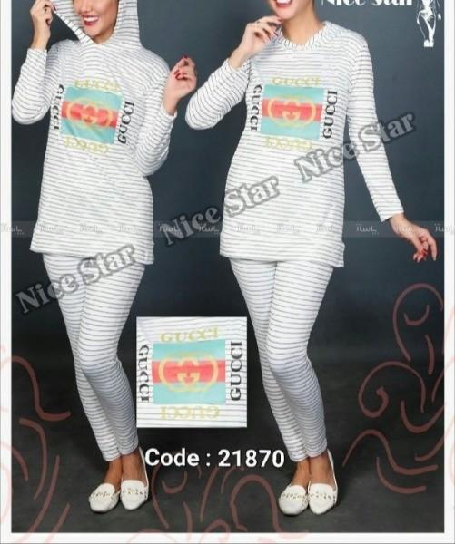 ست سوییشرت و شلوار کلاهدار-تصویر اصلی