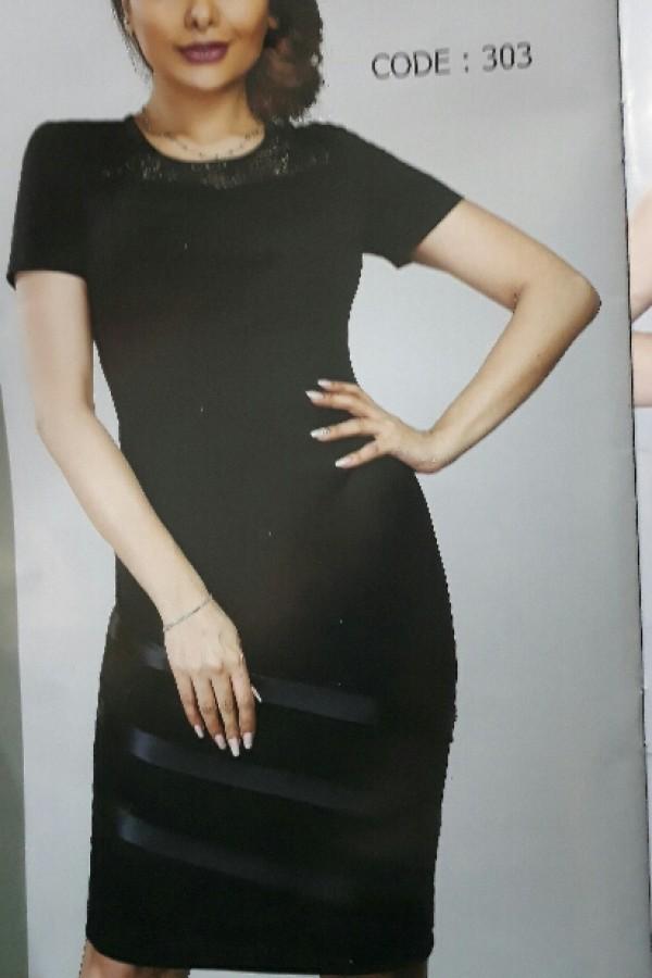 پیراهن کوتاه ۳ خط-تصویر اصلی
