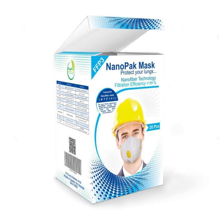 نانو ماسک صنعتی 6لایه FFp3-تصویر اصلی