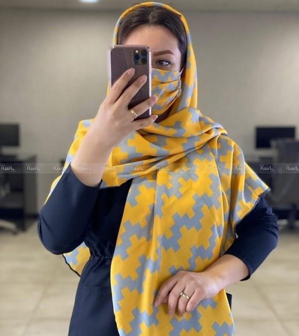 ماسک و روسری زیگ زاگ-تصویر اصلی