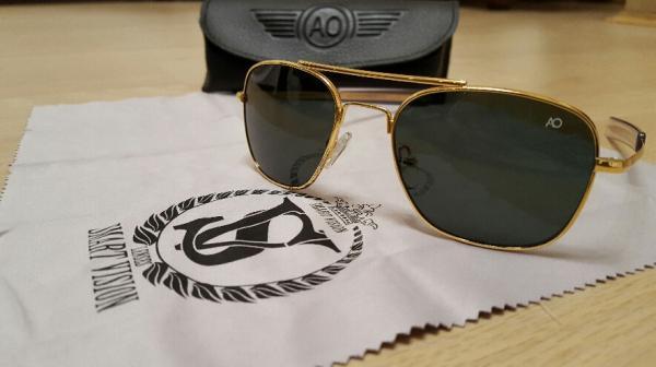عینک آمریکن اپتیکال(AO)اورجینال آمریکا (American optical/made in USA)-تصویر اصلی