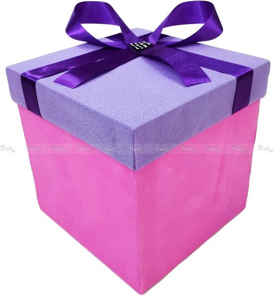 باکس هدیه سایز بزرگ مدل پاپیون + هدیه-تصویر اصلی