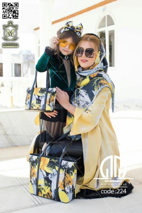 ست کیف و روسری ( مادر و دختر )-تصویر اصلی