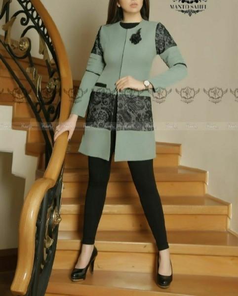 مانتو عیدانه مدل نارگل-تصویر اصلی
