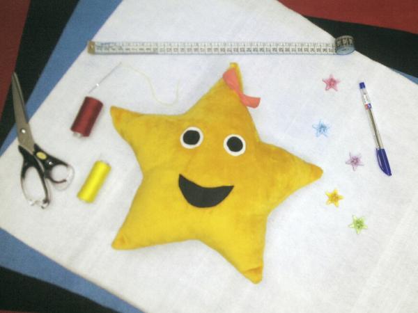 بالش فانتزى كودكانه (ستاره)-تصویر اصلی