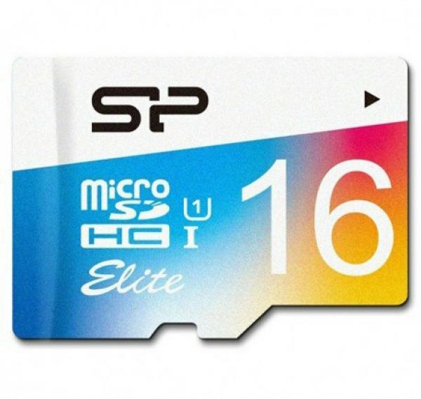 Silicon Power Elite Color microSDXC - 16GB-تصویر اصلی