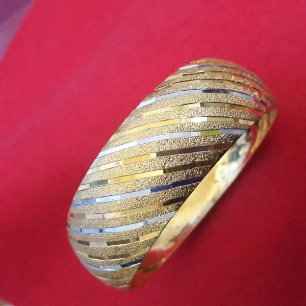 تک پوش النگ طلا هندی-تصویر اصلی