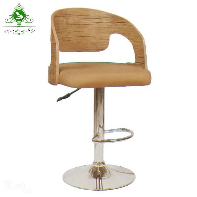 صندلی اپن مدل چوبی ساده-تصویر اصلی