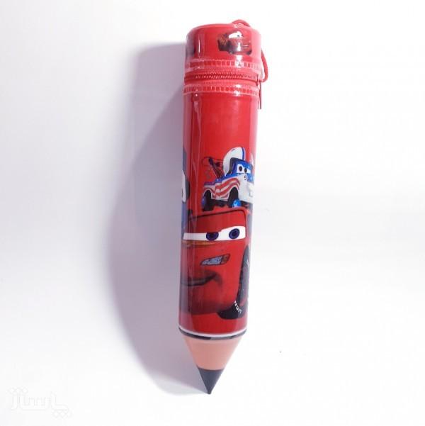 جامدادی طرح مداد پلاستیکی پسرانه-تصویر اصلی