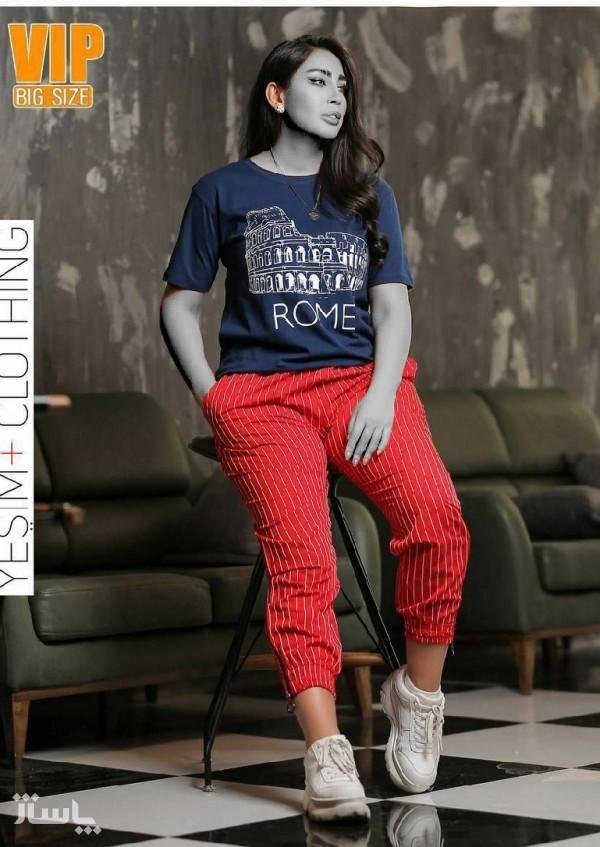 تیشرت شلوار سایزبزرگ-تصویر اصلی