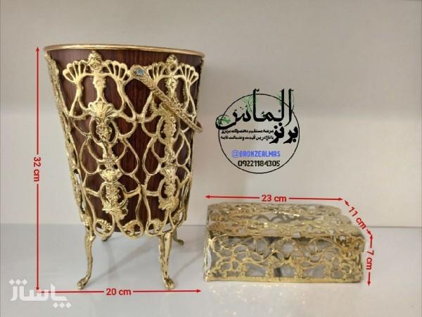 سطل و دستمال برنز-تصویر اصلی
