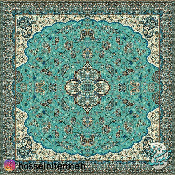 رومیزی ترمه شاه عباسی-تصویر اصلی