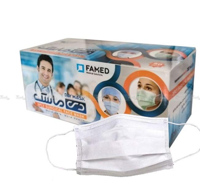 ماسک تنفسی دی ماسک مدل high-F بسته 50 عددی