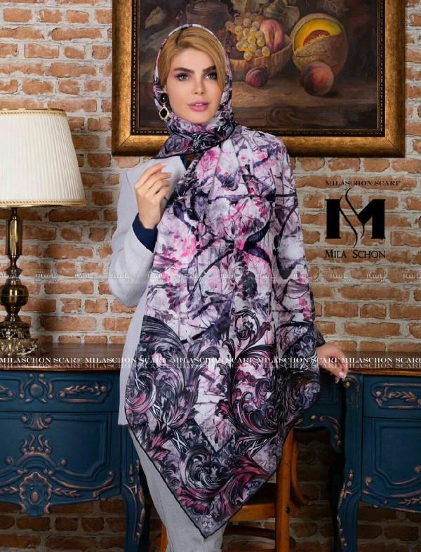 روسری حریر میلا-تصویر اصلی