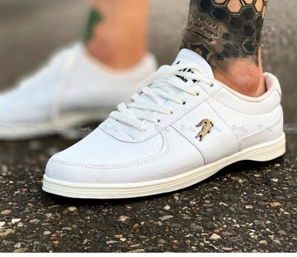 کفش کتانی لاگوست سفید