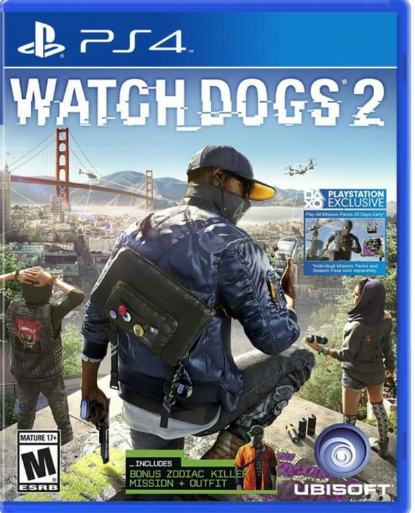 بازی ps4 whatch dog 2-تصویر اصلی