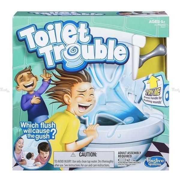 ابزار شوخی هاسبرو مدل Toilet Trouble-تصویر اصلی