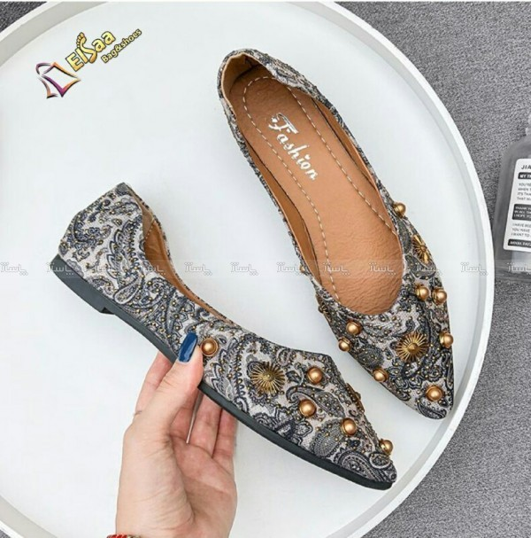 کفش مجلسی ترمه-تصویر اصلی