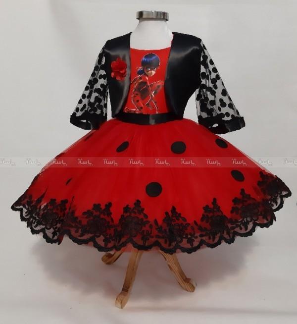 لباس دختر کفشدوزکی-تصویر اصلی