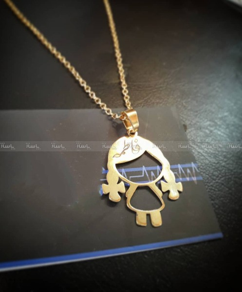 گردنبند نقره اسم فاطمه فارسی-تصویر اصلی