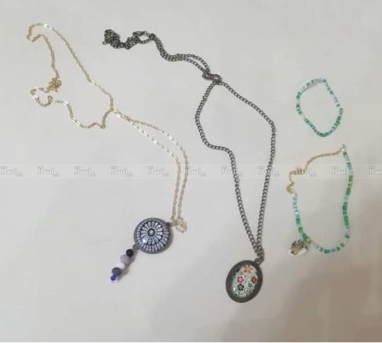 گردنبند های رو مانتویی و ست پابند و دستبند-تصویر اصلی