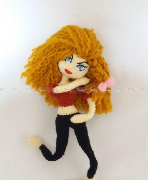 عروسک بافتنی دختر-تصویر اصلی