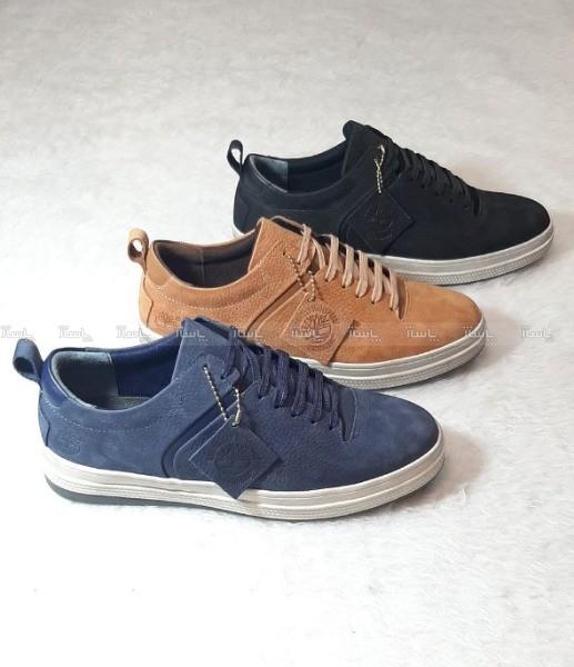 کفش مردانه چرم طبیعی مدل تیمبرلند-تصویر اصلی
