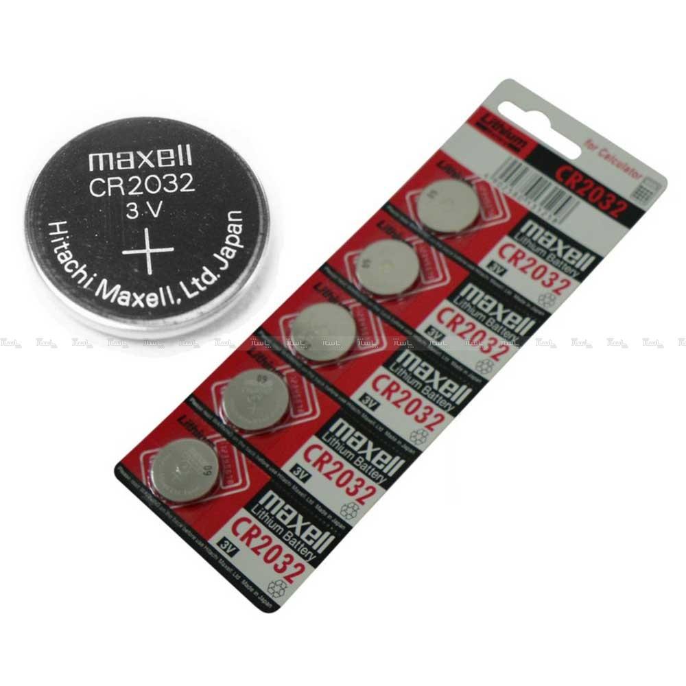 باتری سکه ای Maxell CR 2032-تصویر اصلی