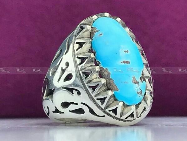 انگشتر فیروزه نیشابور اصل-تصویر اصلی
