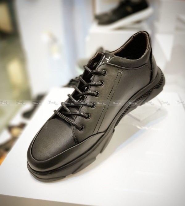 کفش اسپورت کلاسیک تمام چرم طبیعی گاوی-تصویر اصلی