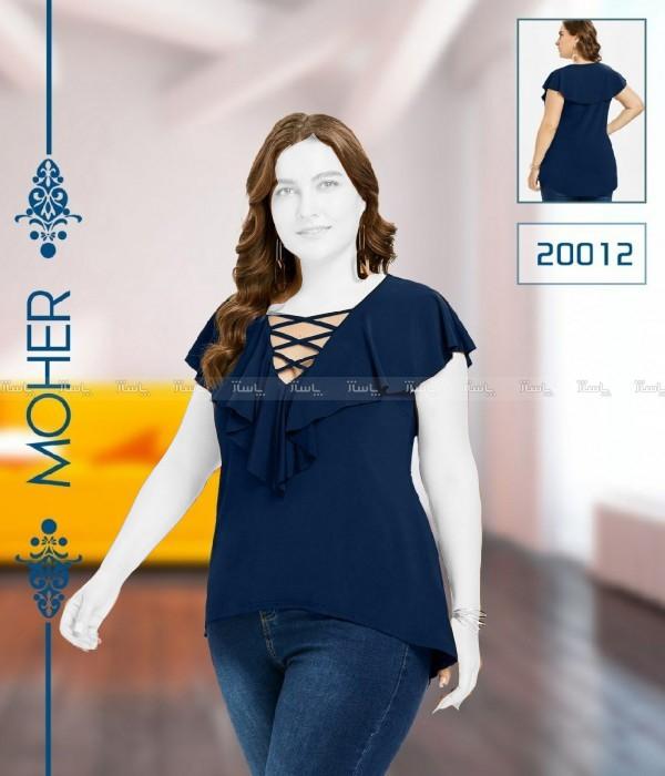 بلوز سایز بزرگ جدید زنانه-تصویر اصلی