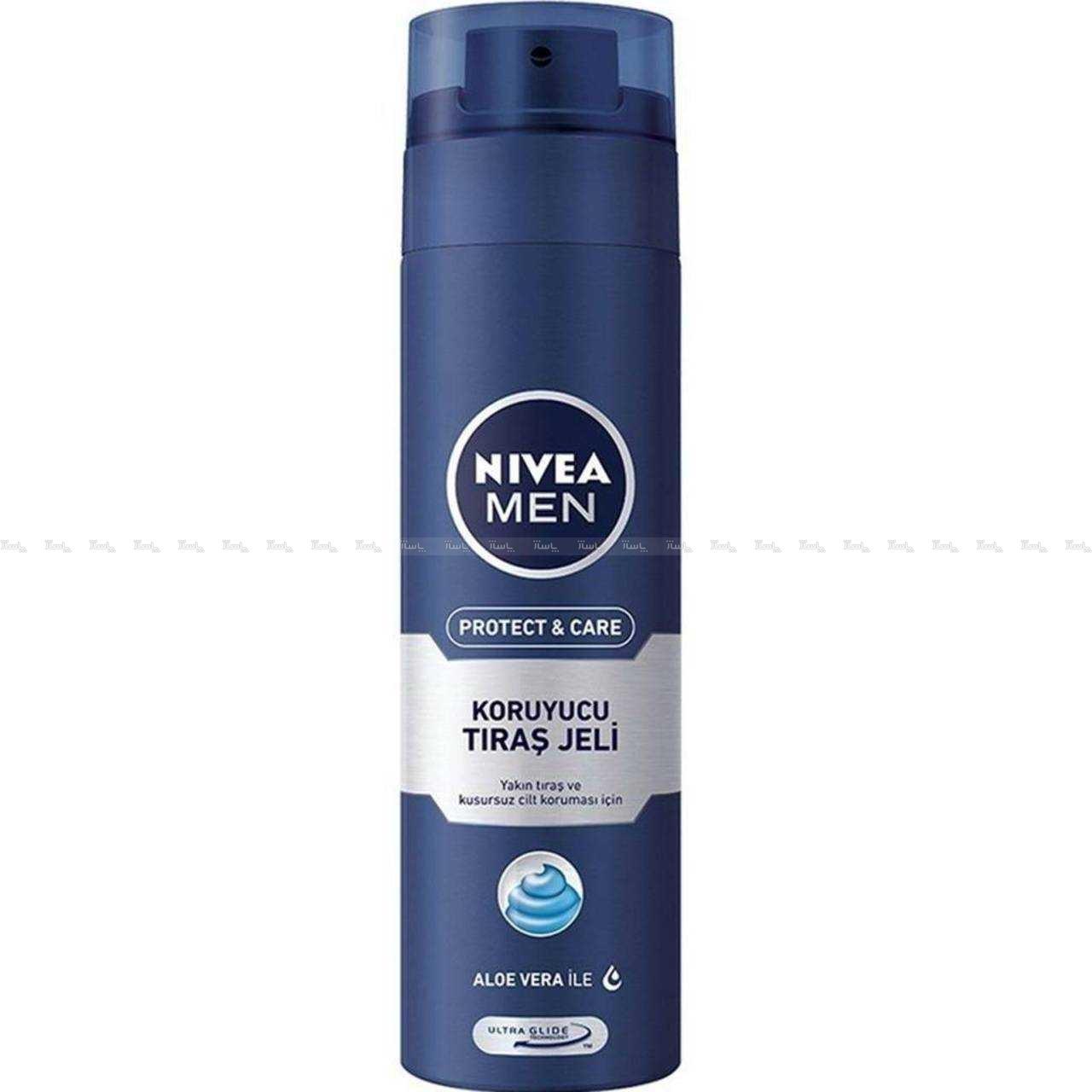 ژل اصلاح مردانه نیوآ مدل Nivea Protect And Care-تصویر اصلی