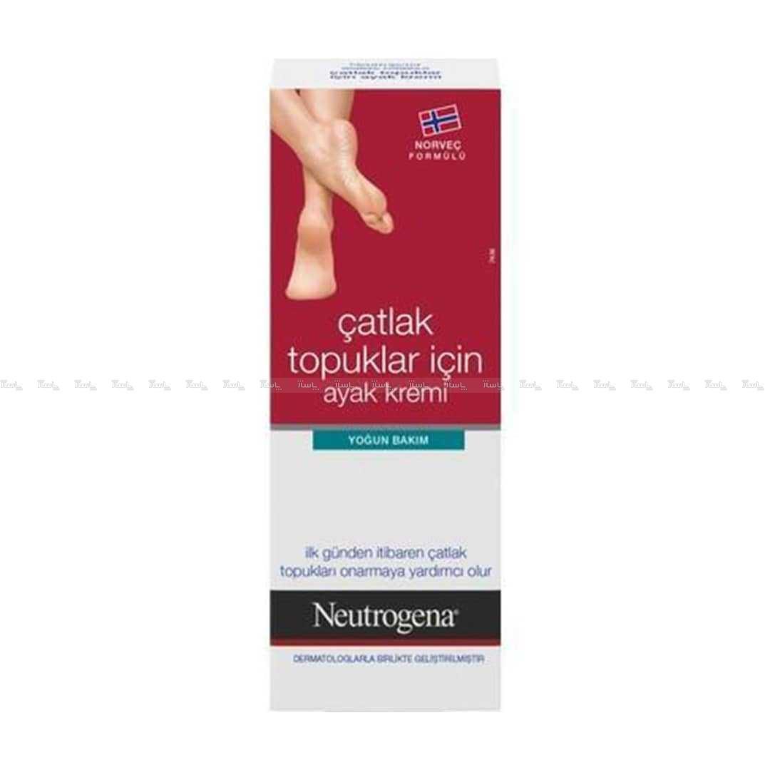 کرم ترک پا و محافظ پوست نوتروژنا  Neutrogena-تصویر اصلی