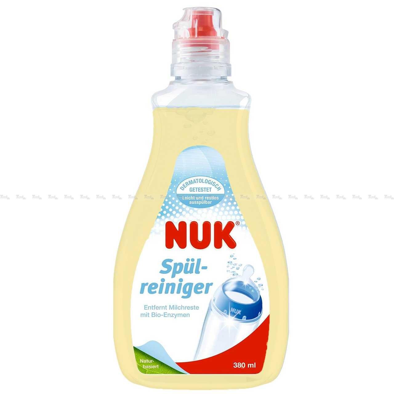 مایع استریل کننده شیشه شیر و پستانک ناک NUK-تصویر اصلی