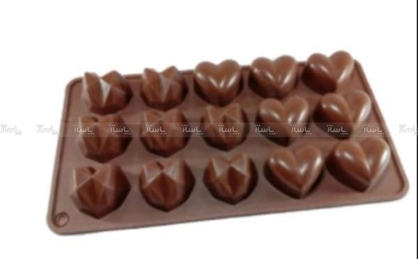 قالب شکلات طرح قلب مدل 02-تصویر اصلی