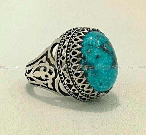 انگشتر نقره فیروزه شجری-تصویر اصلی
