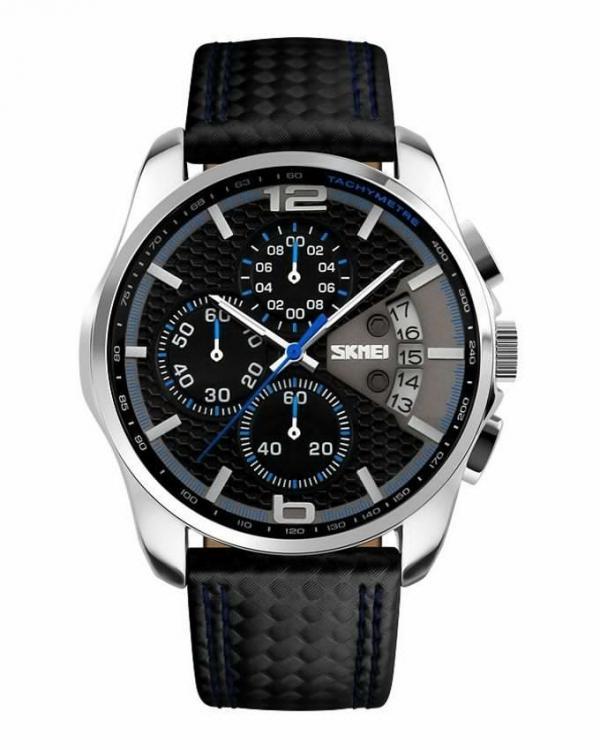 ساعت مچی چرم مردانه اسکمی S9106/BLUE-تصویر اصلی