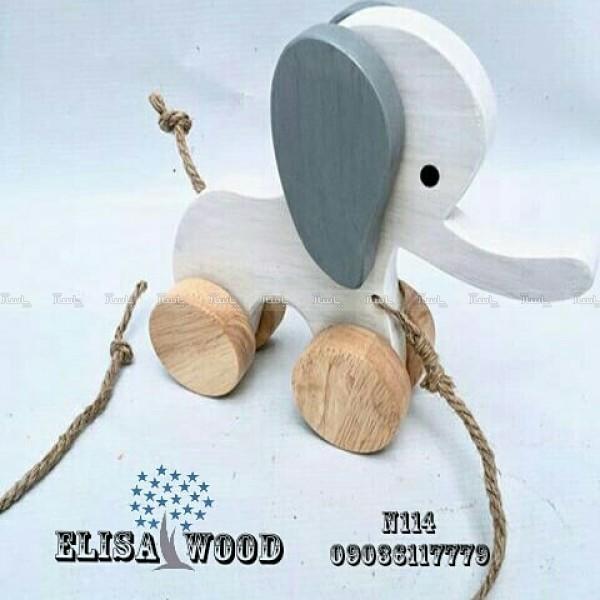فیل چوبی N114-تصویر اصلی