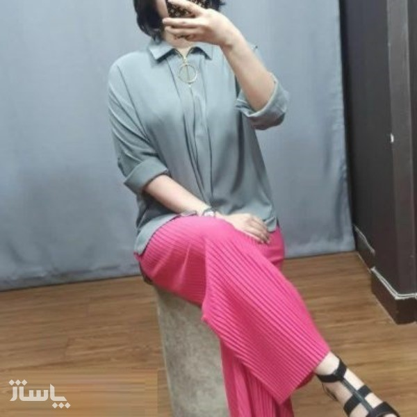 شلوار لاکچری زنانه - پلیسه-تصویر اصلی