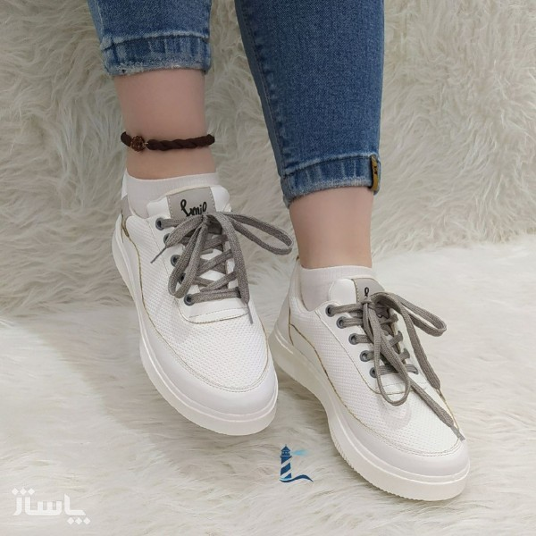 کفش کتانی طرح لبخند-تصویر اصلی