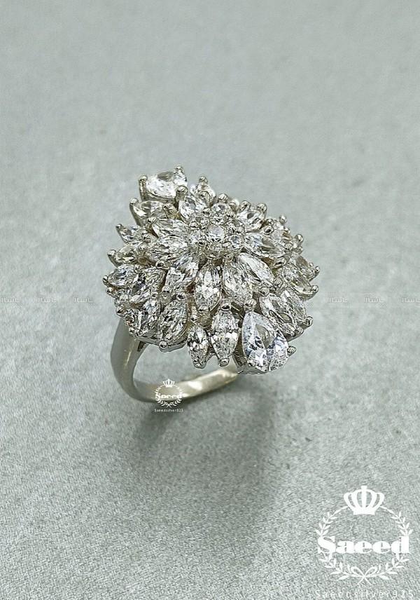 انگشتر طرح جواهر سلطنتی-تصویر اصلی