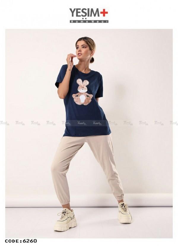 تیشرت شلوار استیکری-تصویر اصلی